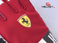 Kimi Raikkonen 2018 Racing gloves / Team Ferrari F1