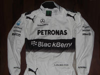 Lewis Hamilton 2014 Racing Suit / Mercedes Benz F1