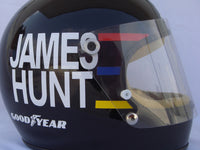 James Hunt 1977 Replica Helmet / Mc Laren F1