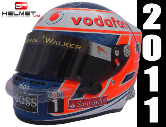 Jenson Button 2011 Replica Helmet / Mc Laren F1