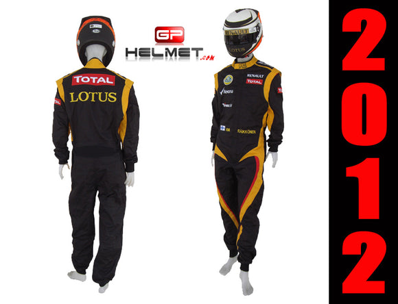 Kimi Raikkonen 2012 racing suit / Team Lotus F1