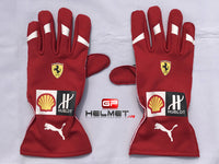 Kimi Raikkonen 2018 F1 Replica Helmet & F1 Racing Gloves