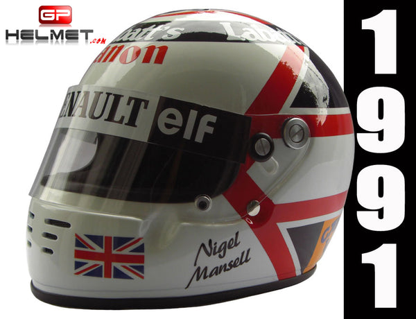 Nigel Mansell 1991 Replica Helmet / Williams F1