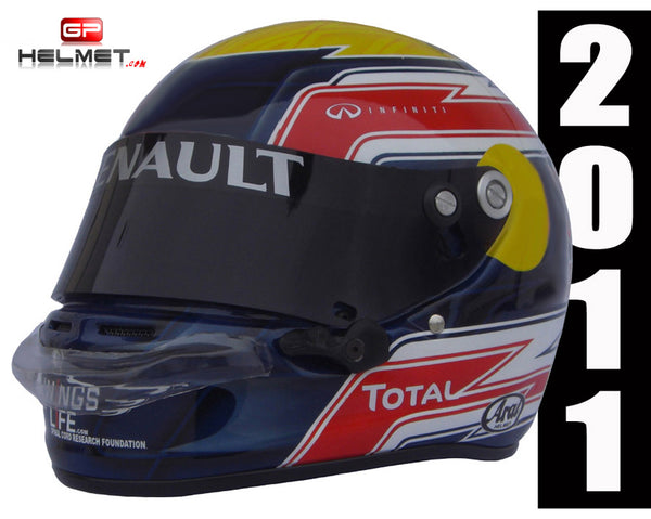 Mark Webber 2011 Replica Helmet / RB F1