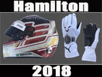 Lewis Hamilton 2018 F1 Replica Helmet & F1 Racing Gloves