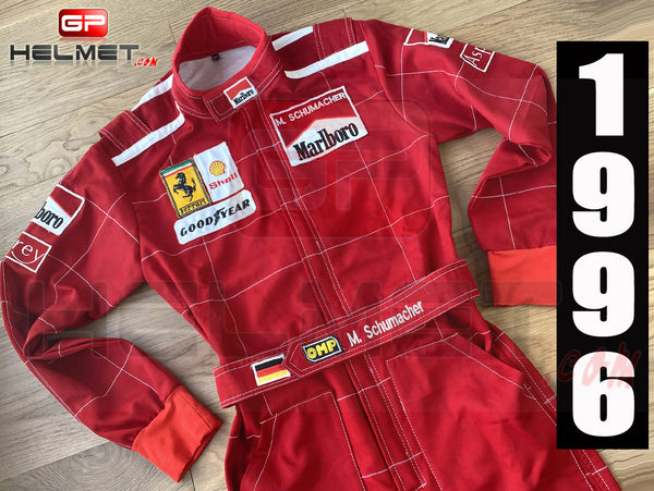 Michael Schumacher 1996 Racing Suit / Team Ferrari F1