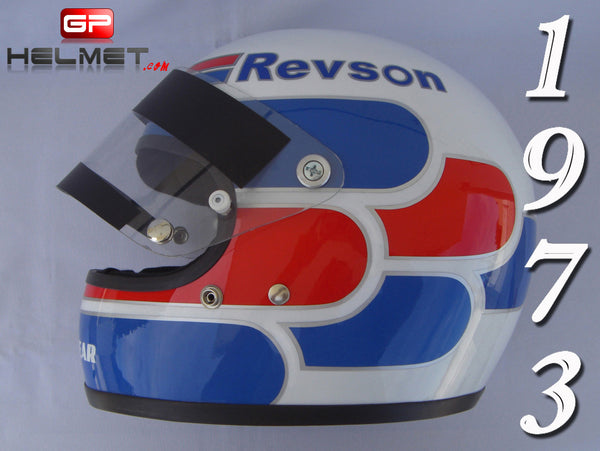 Peter Revson 1973 Replica Helmet / Mc Laren F1