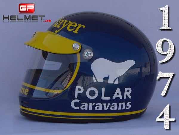 Ronie Peterson 1974 Replica Helmet / Lotus F1
