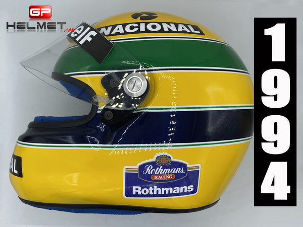 Ayrton Senna 1994 TEST Helmet / Team Williams F1