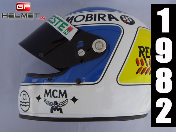Keke Rosberg 1982 F1 Helmet / Williams F1