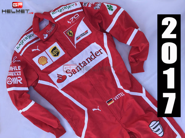 Vettel 2017 Racing Suit / Ferrari F1