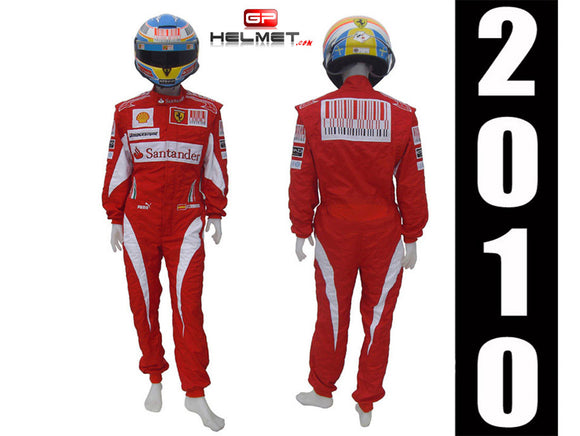 Fernando Alonso 2010 Racing Suit Replica / Ferrari F1