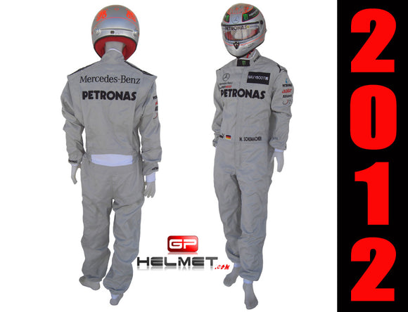 Michael Schumacher 2012 racing suit / Team Mercedes Benz F1