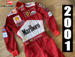 Michael Schumacher 2001 Racing Suit / Team Ferrari F1