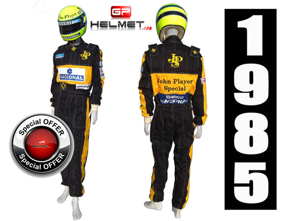 Ayrton Senna 1985 racing suit Replica / OFFER