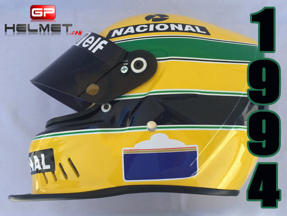 Ayrton Senna 1994 Bell Test Helmet / Team Williams F1