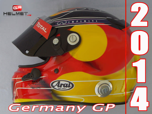 Sebastian Vettel 2014 GERMANY GP Replica Helmet / RB F1