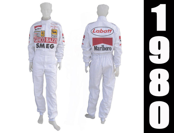 Gilles Villeneuve 1980 Racing Suit Replica / Ferrari F1