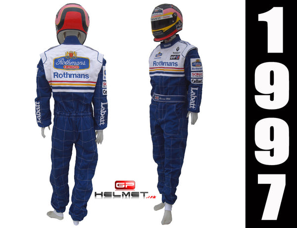 Jaques Villeneuve 1997 Racing Suit replica / Williams F1