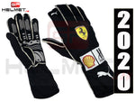 Sebastian Vettel 2020 Replica Racing gloves / Team Ferrari F1