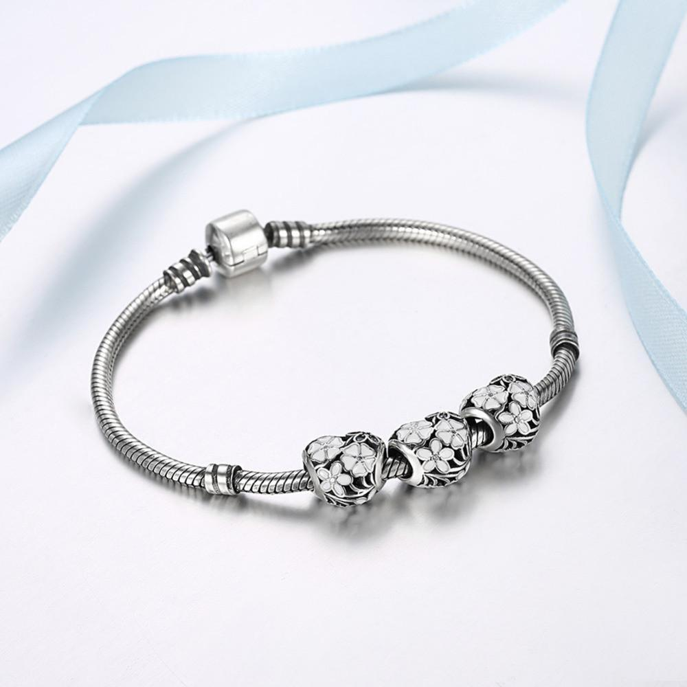 Bangle Charms Pandora Bracelet - Odacali Bracelets