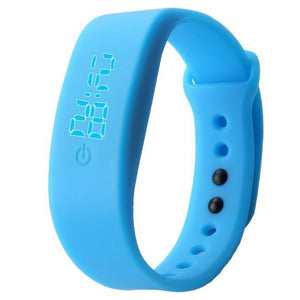 Unisex Rubber LED Digital Wrist Watch Sports Bracelet - Odacali Bracelets