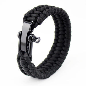 Paracord Bracelet with Adjustable D Shackle - Odacali Bracelets