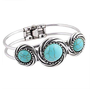 Bohemian Style Retro Cute Plating Bangle Bracelet - Odacali Bracelets