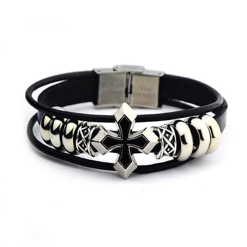 Braided Leather Bracelet - Odacali Bracelets