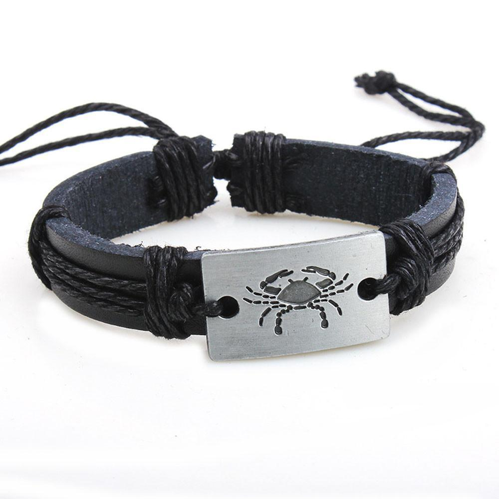 Scorpion Leather Bracelets - Odacali Bracelets