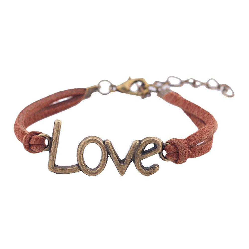 Retro Nostalgia Leather Love Bracelets - Odacali Bracelets