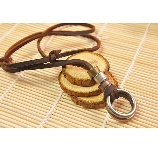 Genuine Leather Necklace - Odacali Bracelets