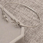 Stylish Leaves Cuff Women Bangle Bracelet - Odacali Bracelets