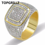 Odacali Bracelets TOPGRILLZ Hip Hop Ring All Iced Out