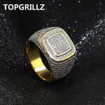 TOPGRILLZ Hip Hop Iced Out Ring - Odacali Bracelets
