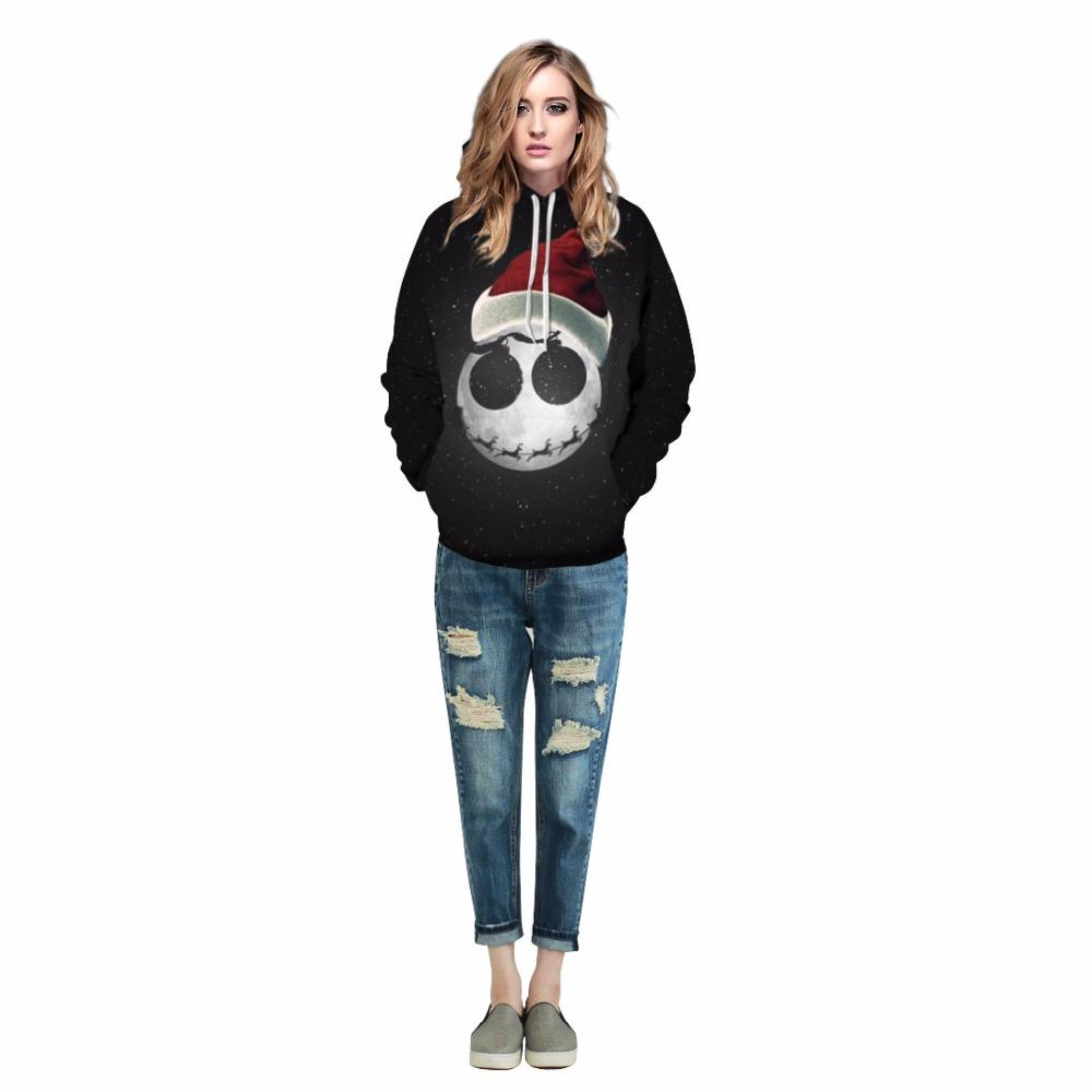 Newest 3D Full Print Holiday Theme Pullover Unisex Hoodie - Odacali Bracelets