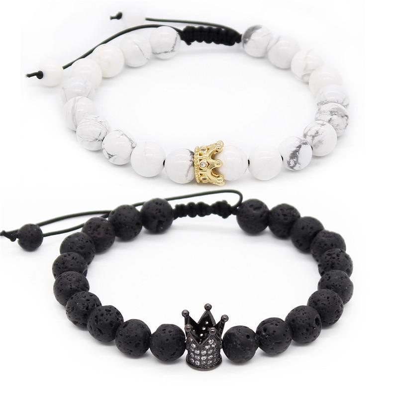 His & Hers Couple Love Beads Bracelets - Odacali Bracelets