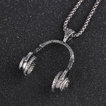 Punk Style Headphone Pendant Necklacehttps://app.oberlo.com/import# - Odacali Bracelets