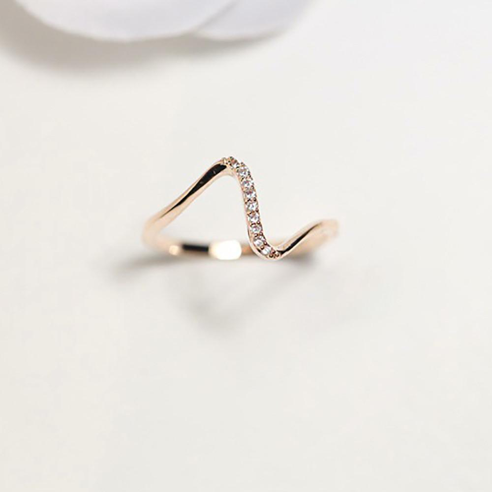 New Wave Of Stone Finger Ring Fashion Jewelry Gift For Women Girl - Odacali Bracelets