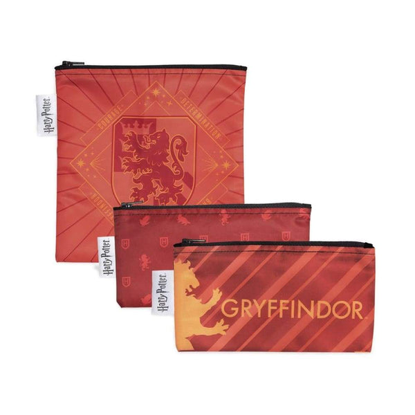 Bumkins Reusable Sandwich & Snack Bags 3-Pack: Gryffindor™ Bumkins Reusable Snack Bags