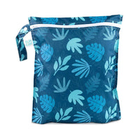 Bumkins Wet Bag Blue Tropic Default Bumkins Wet Bag