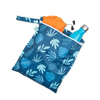 Bumkins Wet Bag Blue Tropic Bumkins Wet Bag