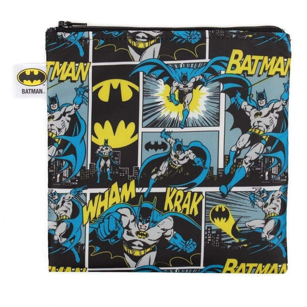 DC Comics Large Snack Bag Batman Bumkins Reusable Snack Bag
