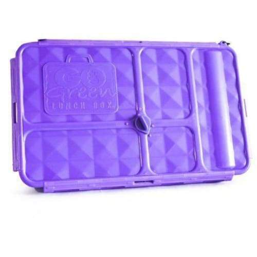 Go Green Large Lunchbox Purple Go Green lunchbox