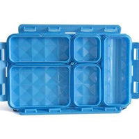 Go Green Lunchset Blue Camo Blue Box Go Green lunchbox