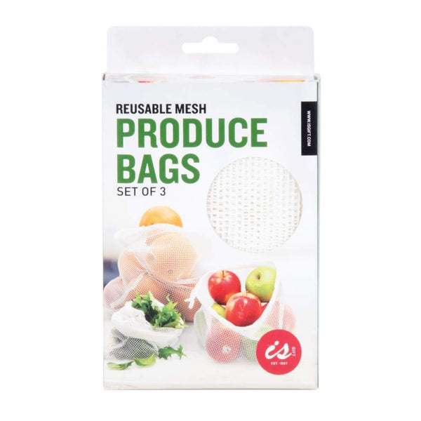 IS Gift Mesh Produce Bags (Set of 3) Default IS Gift Reusable Pouch