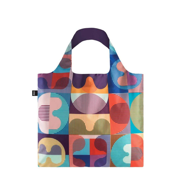 Loqi Reusable Shopping Bag Hvass & Hannibal Collection - Grid Loqi Reusable Shopping Bag