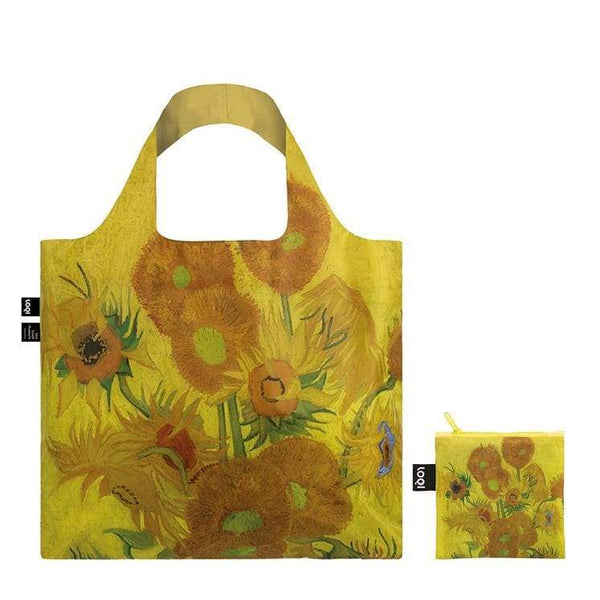 Loqi Reusable Shopping Bag Museum Collection - Sunflowers Loqi Reusable Shopping Bag
