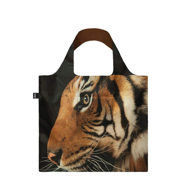 Loqi Reusable Shopping Bag National Geographical Collection Malayan Tiger Loqi Reusable Shopping Bag