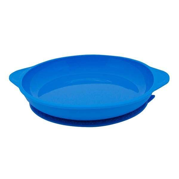 Marcus & Marcus Silicone Suction Plate Blue Yum Yum Kids Store Silicone Plate